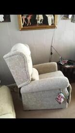 Immaculate condition electric reclining chair