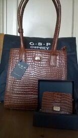 OSP Osprey shoulder bag and purse new