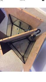 Custom made sump system for Fluval 190 corner tank in Excellent condition