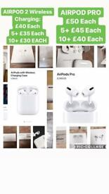 Apple AirPods Pro 2nd Generation Wireless Charging Headphones earphones