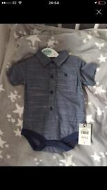 All newborn and first size clothes.