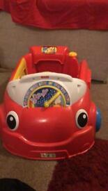 Ride in car