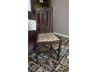 Wood Brown Chair
