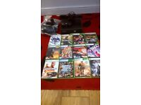 x box 360 and 12 games. 120 ono