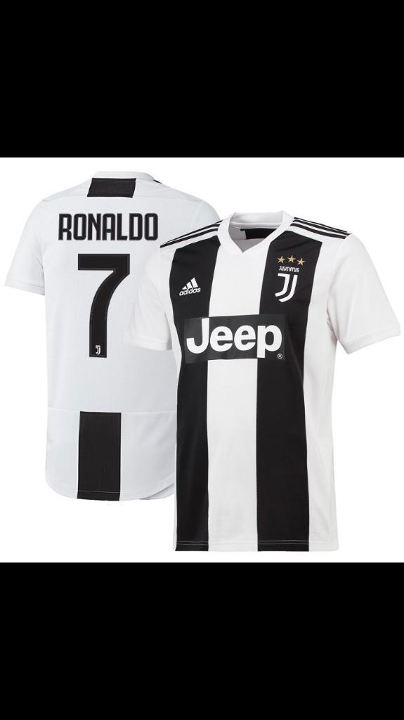 Juventus football top home shirt 2018 19 Ronaldo  9161f9dcb