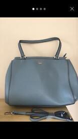 Fiorelli pale blue tote bag