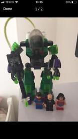 Lego superman vs lex bot