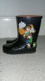 Cartoon Network Ben 10 wellington boots. Infant size 10. Excellent condition LIKE NEW. RRP £9
