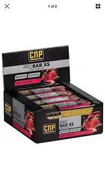 CNP protein bars berry flavour