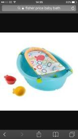 Fisherprice baby bath