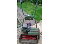 Semi-Vintage ATCO Motor Mower for Restoration or Parts.