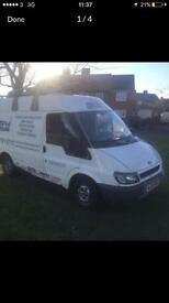 Ford transit 2006 roof rack 1 months mot 2 litre Engine box mint