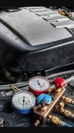 Air Conditioning Re gas Cars , Jeeps , Vans etc
