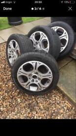 Proton alloys and tyres £50