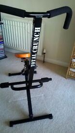 Total Crunch - All round fitness machine - Used a few times, excellent condition