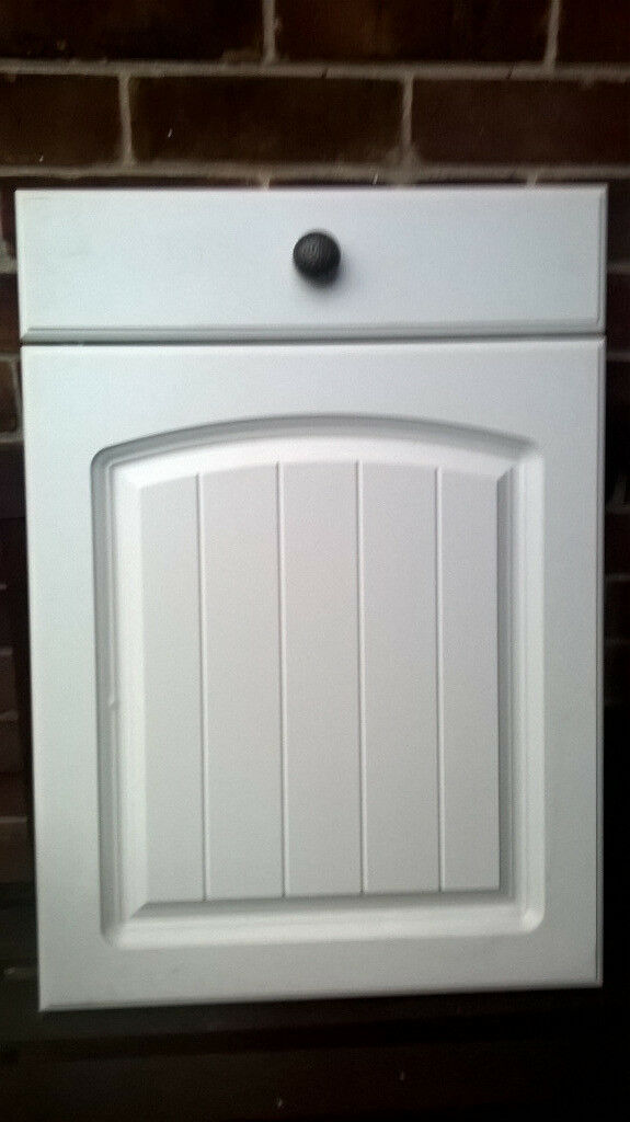 White Homebase Kitchen Unit Door And Drawer Front