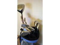 GOLF CLUBS, FULL SETS, COBRA, SEVE, NICKLAUS