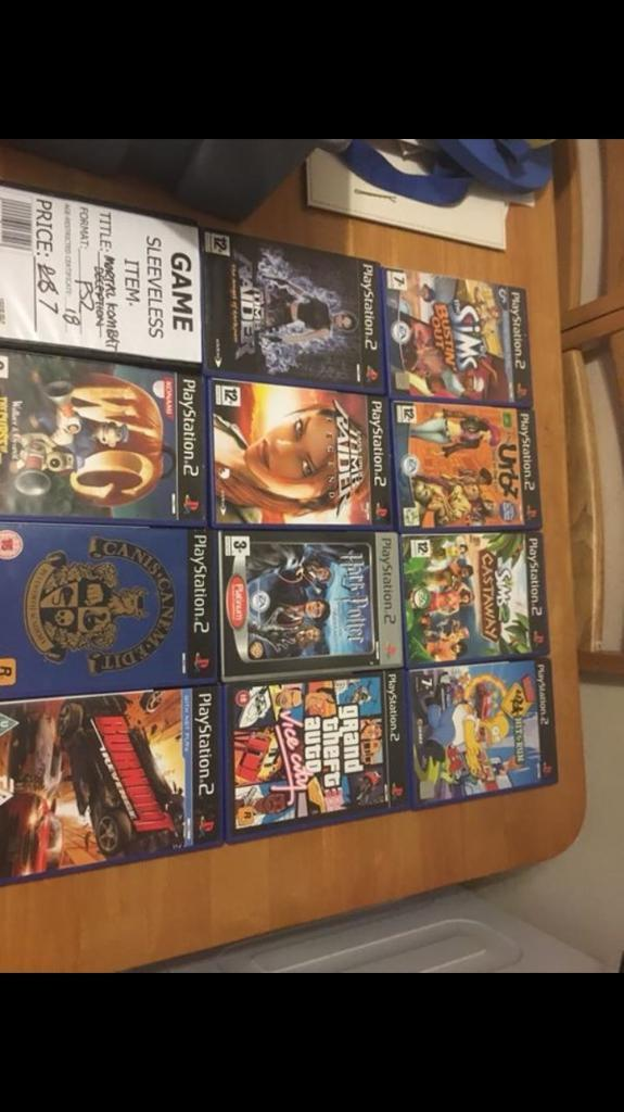 13 ps2 games