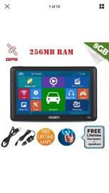 "7"" Touchscreen Sat Nav (Bluetooth, radio, media, handsfree, games)"