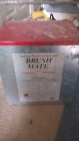 BRUSH MATE 20 USED WET STORAGE SYSTEM BOX & LID ARE METAL GLUSBURN BD20 8DW, W.YORKS near DOG & GUNP