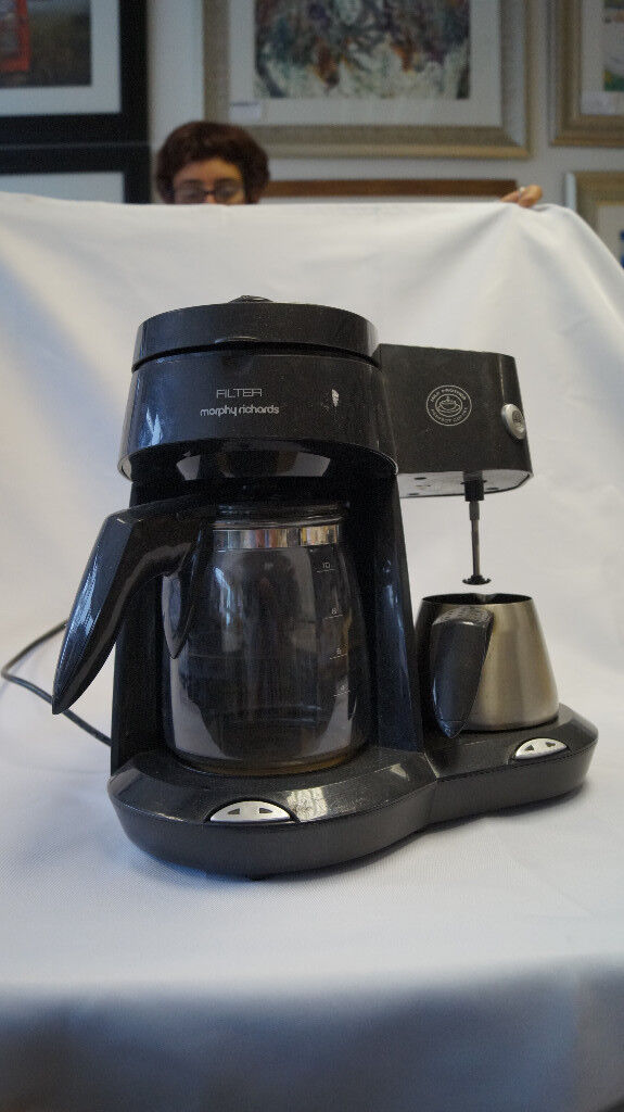 murphy richards filter coffee machine , used