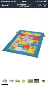 Taff toys reversible play mat extra padded in original carry bag