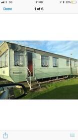 Static caravan , mobile home ,