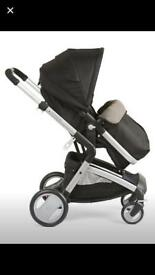 Mothercare Roam stroller, car seat and isofix