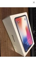 iPhone X 256gb on o2 space grey