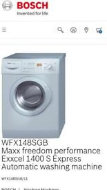 BOSCH 1400s freedom washing machine free local delivery