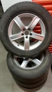 (192) Pneus d'Hiver - Winter Tires 235-65-17 Gislaved