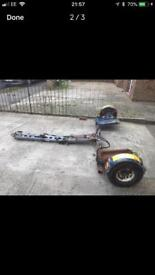 RAC towing dolly