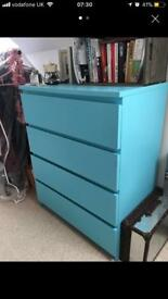 4 chest drawers - baby bedroom