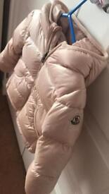 Baby girl Moncler jacket