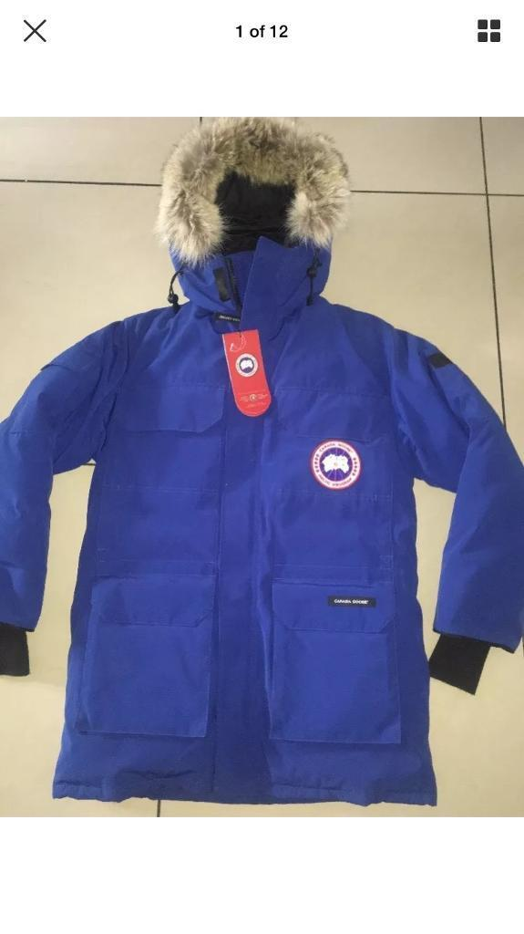are canada goose real fur