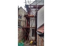 Used scaffolding for sale 560 feet tube + clips