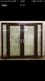 Upvc French patio doors(N83)Delivery