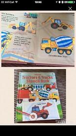 New digger/truck story/stencil book
