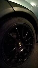 "Vaux 16"" 4x100 team dynamics alloys"