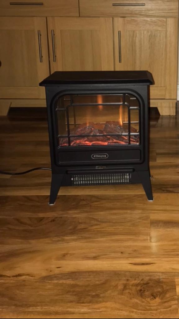 Dimplex electric micro stove fire