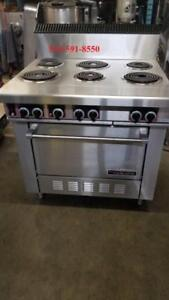 Garland Poele , Cuisinere , Electrique , Convection, Stove Range Electric 6 Burner