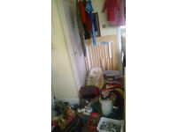 Carboot Joblot - Free Delivery Today Only - pine bed - bunk beds - stairgate - list included
