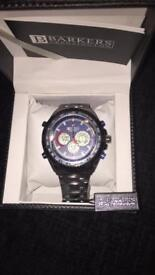 BARKERS OF KENSINGTON MENS WATCH BRAND NEW STILL WITH TAG ON