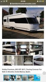 Luxury Caravan for hire in BENIDORM EL RACO