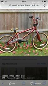 Voodoo bmx bike 20 inch limited edition