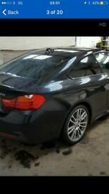 BMW 4 SERIES F32 DRIVERS SIDE REAR QUATER PANEL SECTION