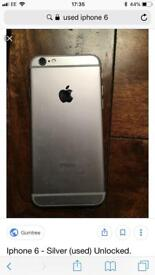 I phone 6 32g good condition