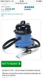 Brand new Henry Numatic CT370-2 Carpet & Hard Floor Cleaner Kit.