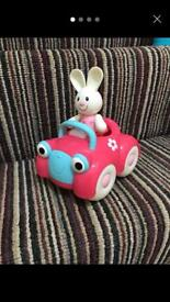 Elc Rosie and her car