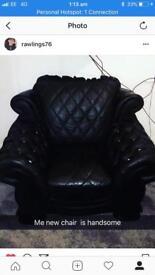 Romany pendragon armchair